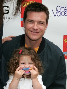 Jason Bateman and shares a laugh with his daughter Francesca Nora Bateman at the 3rd annual Kidstock Music and Art Festival  on May 31, 2009 in Beverly Hills