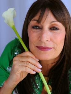 Anjelica Huston of 'Choke' poses for a portrait during the 2008 CineVegas film festival held at the Palms Casino Resort on June 21, 2008