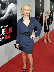 Anna Paquin arrives at the premiere of the 2nd season of HBO&#8217;s &#8216;True Blood&#8217; at the Paramount Theater on June 9, 2009 in Los Angeles