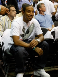 Ludacris attends game three of the 2009 NBA Finals between the Los Angeles Lakers and the Orlando Magic on June 9, 2009 in Orlando, Florida