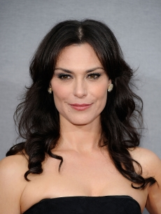 Michelle Forbes arrives at the Premiere Of HBO's 'True Blood' 2nd Season at Paramount Studios on June 9, 2009 in Hollywood