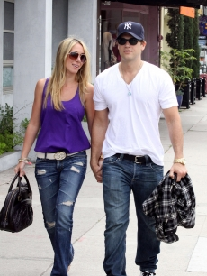 Haylie Duff and Nick Zano sighting at Joans On Third Cafe on June 10, 2009 in West Hollywood