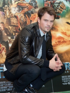 Josh Duhamel attends 'Transformers: Revenge Of The Fallen' photocall at Hassler Hotel on June 11, 2009 in Rome