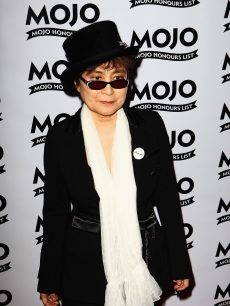 Yoko Ono rocks a top hat at the 2009 MOJO Honours List at The Brewery on June 11, 2009 in London