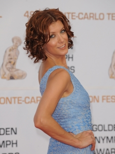 Kate Walsh is a beauty in blue during the closing ceremony of the 2009 Monte Carlo Television Festival on June 11, 2009