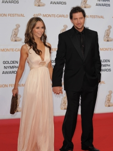 Jennifer Love Hewitt and Jamie Kennedy hit the red carpet at the closing ceremony of the 2009 Monte Carlo Television Festival on June 11, 2009