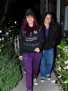 'Idol' alum Allison Iraheta spotted on June 11, 2009 in West Hollywood