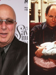 Paul Shaffer and 'Seinfeld's' George Costanza, played by Jason Alexander