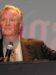 Jon Voight accepts the Marquee award during the honoree awards ceremony & reception during the 11th annual CineVegas film festival on June 14, 2009 in Las Vegas