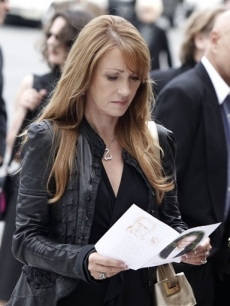 Jane Seymour arrives at the funeral of David Carradine on Saturday June 13, 2009, in Los Angeles