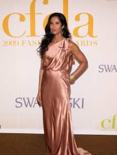 Padma Lakshmi attends the 2009 CFDA Fashion Awards at Alice Tully Hall, Lincoln Center on June 15, 2009