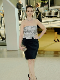 Michelle Trachtenberg attends the 2009 CFDA Fashion Awards at Alice Tully Hall in Lincoln Center on June 15, 2009 in New York City