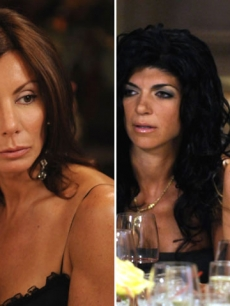 Danielle Staub, Teresa Giudice, Dina Manzo of Bravo's 'The Real Housewives of New Jersey'