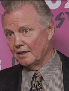 Jon Voight speaks to Access' Maria Menounos at CineVegas