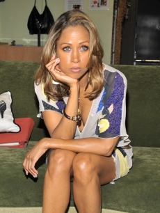 Stacey Dash poses at an event to promote 'House Arrest,' Hollywood, June 17, 2009