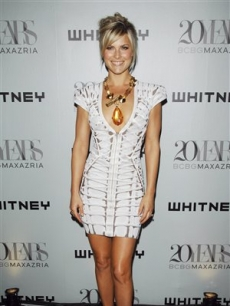 Ali Larter shines on the red carpet at the Whitney Museum annual art party and auction in New York, on June 17, 2009