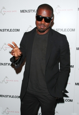 Kanye West makes a fashionable appearance at the Men.Style.Com's 3rd annual Women of Fashion event on June 10, 2009 in New York City