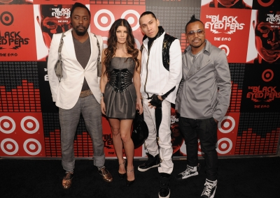 The Black Eyed Peas Celebrate their Target album release in NYC, June 10, 2009