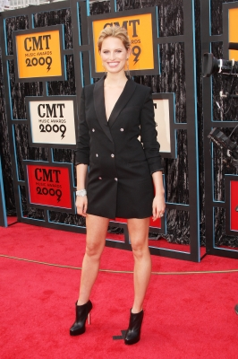 Model Karolina Kurkova attends the 2009 CMT Music Awards at the Sommet Center on June 16, 2009 in Nashville, Tennessee