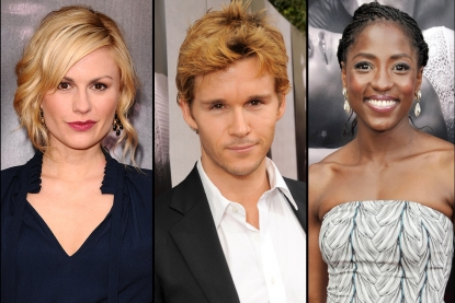 Anna Paquin, Ryan Kwanten and Rutina Wesley at the &#8216;True Blood&#8217; Season 2 premiere in LA (June 9, 2009)