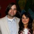 Death Cab For Cutie's Ben Gibbard and Zooey Deschanel attend Shep Gordon's Party during the 10th Annual Maui Film Festival at Mala in Wailea, Hawaii on June 18, 2009