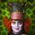 Johnny Depp stars as the Mad Hatter in Tim Burton&#8217;s &#8216;Alice In Wonderland&#8217;