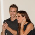 Ryan Reynolds and Sandra Bullock share a laugh at &#8216;The Proposal&#8217; photocall at Villa Magna Hotel on June 26, 2009 in Madrid, Spain