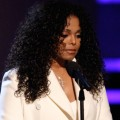 An emotional Janet Jackson takes the stage at the 2009 BET Awards on June 28, 2009