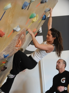Eliza Dushku visits the Gatorade G Gym at Village at The Yard on January 18, 2009 in Park City, Utah