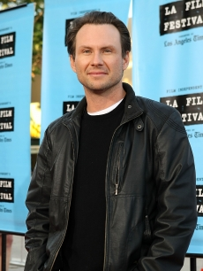 Christian Slater rocks the red carpet at the Los Angeles Film Festival opening night gala premiere of 'Paper Man' on June 18, 2009
