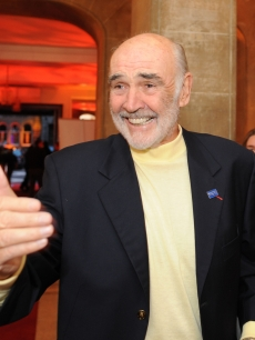 Sean Connery attends the Homecoming Scotland party at the Edinburgh International Film Festival on June 19, 2009