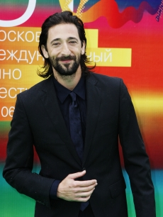 Adrien Brody attends the opening ceremony of the Moscow Film Festival at the Pushkinski Cinema on June 19, 2009