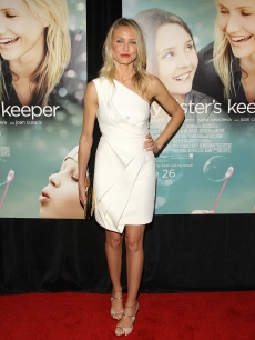 Cameron Diaz attends the premiere of 'My Sister's Keeper' in NYC, June 24, 2009