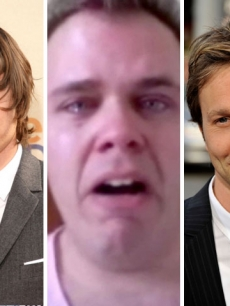 Zac Efron, Perez Hilton and Breckin Meyer