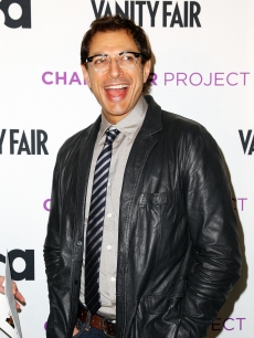 Jeff Goldblum attends USA Network's 'American Character: A Photographic Journey' launch event on March 12, 2009 in New York City