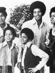 The Jackson 5, Michael, Marlon, Tito, Jackie, and Jermaine Jackson in Los Angeles