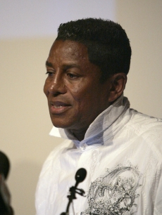 Jermaine Jackson speaks about his brother Michael Jackson's death during a press conference at Ronald Reagan UCLA Medical Center June 25, 2009