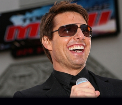 Tom Cruise at the 'Mission Impossible III' premiere