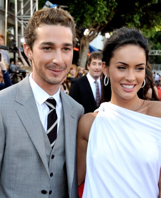 Shia LaBeouf and Megan Fox are all smiles at the premiere of 'Transformers: Revenge Of The Fallen' in Los Angeles on June 22, 2009