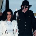 Michael Jackson and ex-wife Lisa Marie in Budapest on August 6, 1994