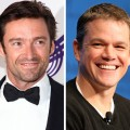 Hugh Jackman, Matt Damon