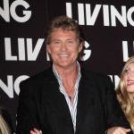David Hasselhoff hits the red carpet at the launch of Living TV's summer schedule in London on July 1, 2009