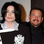 Michael Jackson and Arnold Klein in 2002