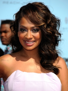 LaLa Vazquez arrives at the 2009 BET Awards held at the Shrine Auditorium in Los Angeles on June 28, 2009