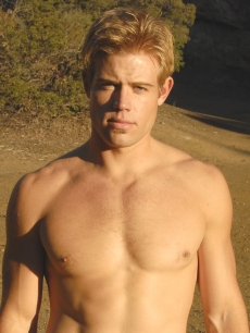 Trevor Donovan poses for a photo shoot in Griffith Park, Los Angeles, December 2007