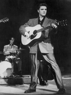 Elvis Presley on the Dorsey Brothers Radio Show on Feb 4, 1956