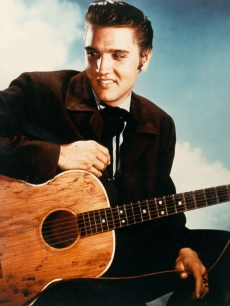 "Elvis Presley in ""Love Me Tender"" on August 1, 1956"