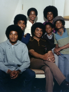 The Jackson 5 (Michael Jackson, Jackie Jackson, Tito Jackson, Marlon Jackson, Jermaine Jackson) and Randy and Joe Jackson on January 1, 1970