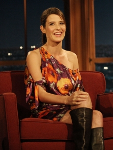 Cobie Smulders appears on 'The Late Late Show with Craig Ferguson' in LA on November 21, 2008