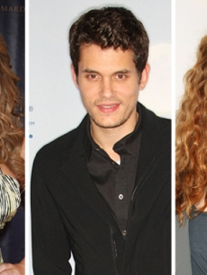 Mariah Carey, John Mayer, Rachelle Lefevre